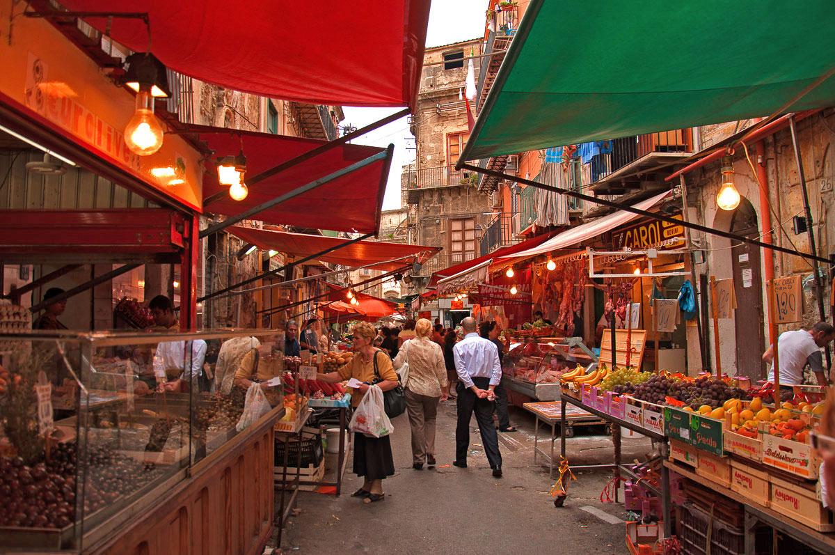 Image result for ballaro street market palermo
